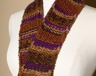 kids autumn colors scarf