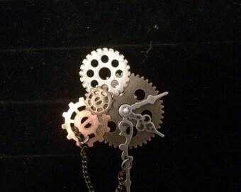 Gear pin 12