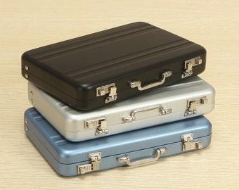 Mini Suitcase Business Card Holder