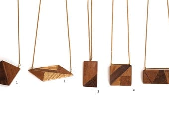 Off-Cut Wooden Necklaces