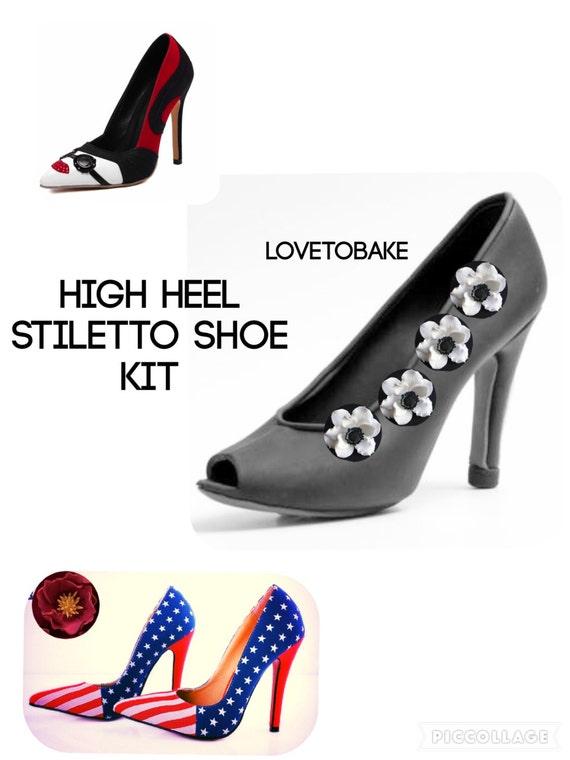 gumpaste shoe mold kit size stiletto by