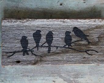 Antique 100yr old Barn Wood Custom Art Wall Decor