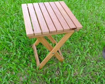 PICK Up ONLY - Hardwood Outdoor Table (Folding)