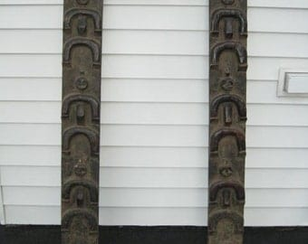 Antique African Door Frame from the Camaroon