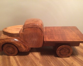 Wooden Truck by Pardieu