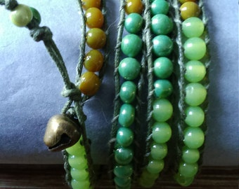 Wrap bracelets 4 rows