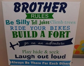 Brother's Rules