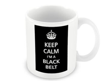 Black Belt Novelty Gift Mug