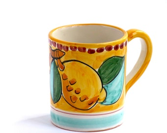 Coffee mug Amalfi design : Lovely Sorrento