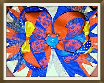 Little miss giggles bow