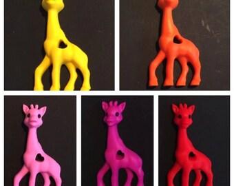 Teething giraffe