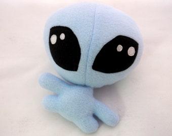 Blue Alien toy, Blue Alien Doll, Alien Stuffed animal, stuffed doll, Alien soft doll, kids gift doll toy, stuffed toy, handmade, Alien toy