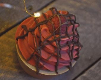 On Sale! Chocolate Raspberry Soap Cupcake