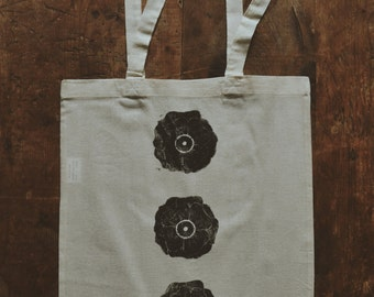 Tote bag / / flowers