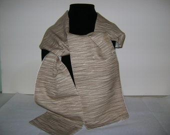 Patchwork Silk Kimono Scarf
