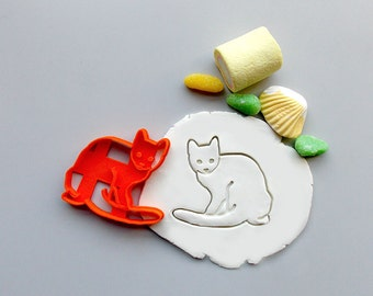 Cat Cookie Cutter.Cat Cookie.3D Printed.Gift for cat lovers. Brand New. Party Favor
