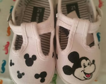 Shoes infant mickey