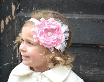 Pink Headband, Child Headband