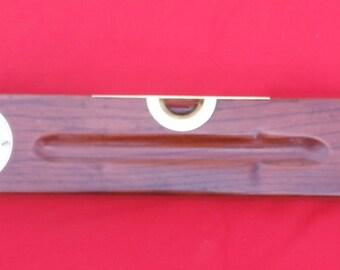 "Vintage Keen Kutter Level No. 4 Antique 30"" Wooden Carpenters Tool Circa 1906"