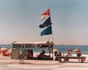 Barraca on the beach
