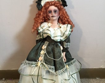 Diana gorgeous huge gothic victorian horror doll