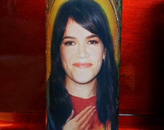 Abbie - Broad City - Celebrity Saint Prayer Candles
