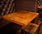 """30"""" x 42"""" Hand-Crafted Tobacco Leaf Table Top (Cigar Leaf) - Available in various sizes"""