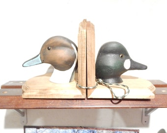 Duck Head Book Ends