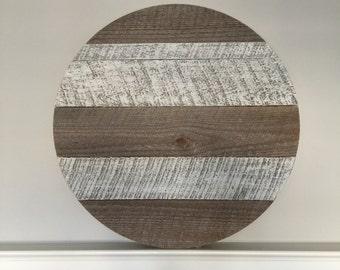"24"" Monogrammed Wood Circle"