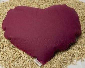 Spelt chaff pillow With Heart
