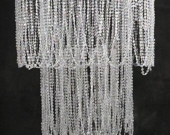 Crystal Chandelier 24x31 (24x50 with chain)