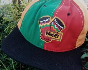 Vintage Stussy Capz Rasta Bob Marley Swag 80s Cap Hiphop S/M