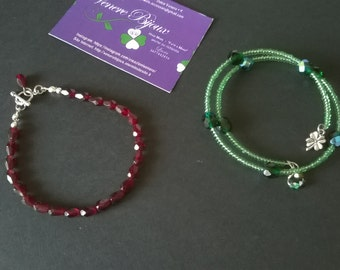 Bracelets with crystals