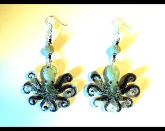 """Octopus Octopus """"Tentacles"""" earrings"""