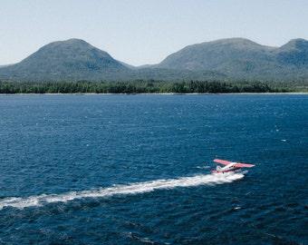 An Alaskan Sea Plane