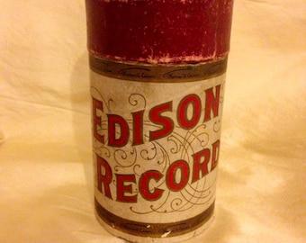 Edison Records Etsy
