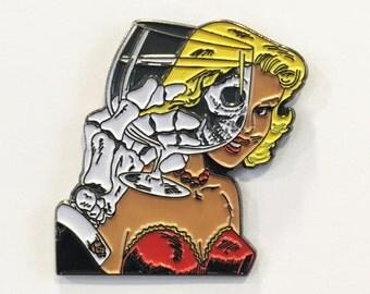 CHAMBER OF CHILLS Enamel Lapel Pin