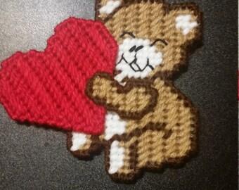Valentines Day Teddy Bear Magnet