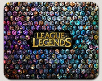 League of Legends LoL Mouse Pad Mousepad Mouse Mat Custom Mouse Pad Desk Accessories Office Accessories Custom Mousepad Computer Mouse Pad