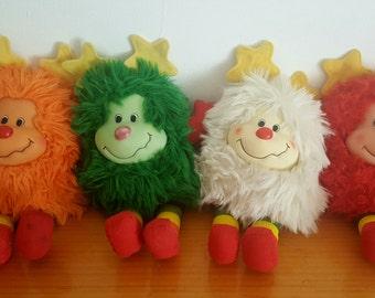 Rainbow Brite 4 goblins collection 1983