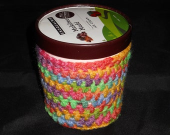 Ice Cream Cozy- Pastel Variegated