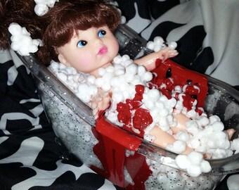 OOAK Bathing Beauty creepy doll