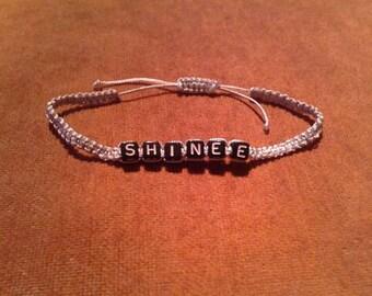 SHINee Macramé Bracelets