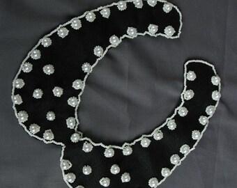 Detachable felt collar