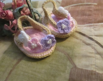 Cute Baby Sandles -Made to order