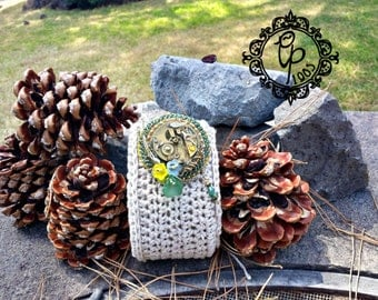 """Brooch """"Out of time"""""""