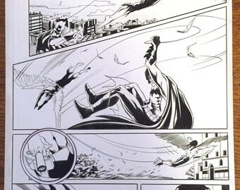 Batman- Detective Comics #770, page 17. Original art!