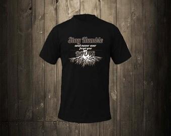 Humble Roots Original T-Shirt (Black)
