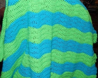 Crochet Wave Blanket