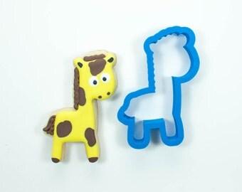 Giraffe Cookie Cutter | Zoo Cookie Cutters | Birthday Cookie Cutters | Mini Cookie Cutters | Animal Cookie Cutters | Unique Cookie Cutters
